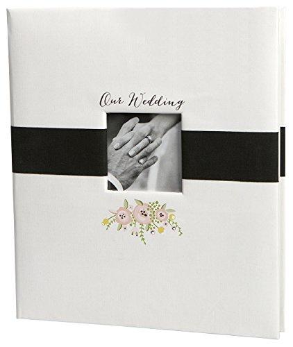 C.R. Gibson Mr & Mrs Thermobecher aus Acryl, doppelwandig, 450 ml, 2 Stück Erinnerungsalbum Memory Album True Love (Archivierung Foto-speicher)