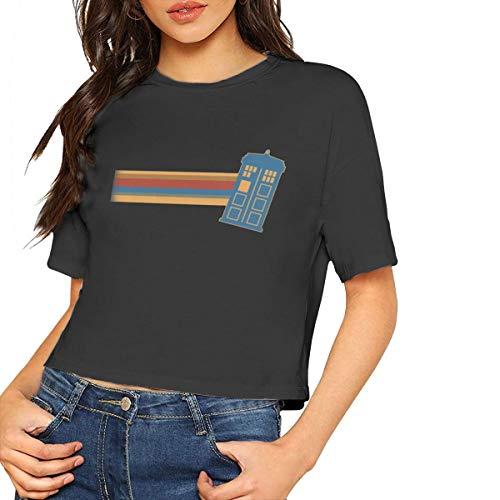 691a6de6 13th Doctor Who Women's T - Shirt,Women's Cropped Top Leaking Navel ...