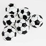 Kamaca 6 er Set Magische Handtücher Fussball in Kleinen Fussbällen süss verpackt aus 100% Baumwolle (6er Set (= 6 Stück) FUßBALL)
