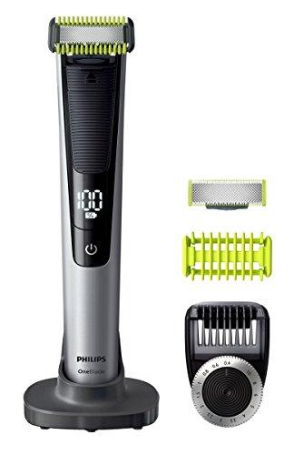Philips Cara + Cuerpo QP6620/20 - Depiladoras para la barba 0,4 mm, 1 cm, Negro, Cal, Plata, Batería...