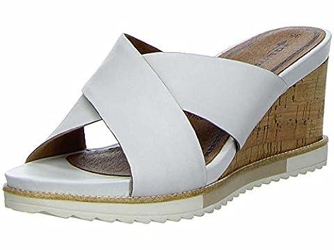 Tamaris Schuhe 1-1-27201-28 bequeme Damen Pantolette, Sandalen, Sommerschuhe für modebewusste