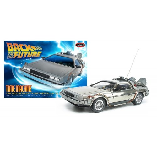 Polar Lights Back to The Future Time Machine Model Kit Maßstab: 1: 25 (Back To The Future Time Machine)