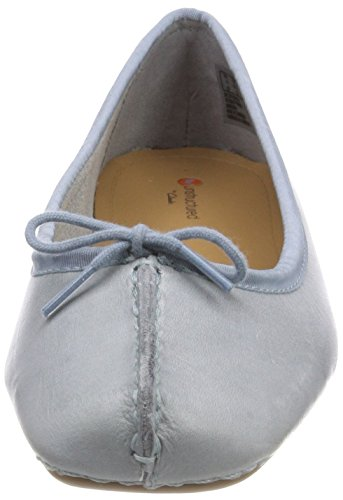 Clarks Freckle Ice, Ballerine Donna Blu (Blue Grey)