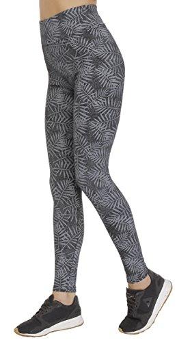 BeLady Damen Leggings Knöchellang aus Baumwolle Abnehmen Blickdichte Leggins Viele Muster (Klaudia, L - 40)