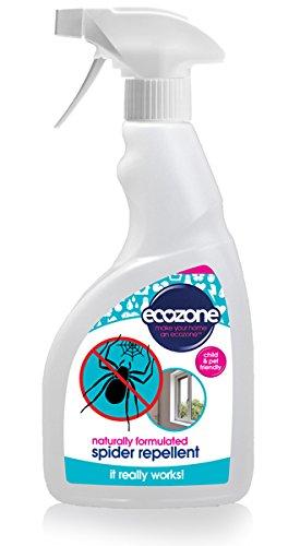 Ecozone Spinnen-abwehrmittel, 500 ml, Natürlich Formel, Langlebig, Kind & Haustierfreundlich