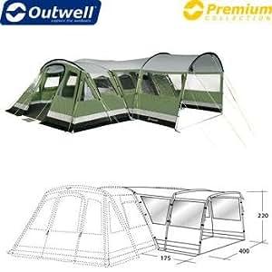 Tente de camping - Outwell Vermont Extension de côté