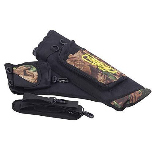 Curitely Jagd-Tasche, Bogenschießen, Köcher Arrow Darts Halterung Tasche für Objektive Jagd Außen Camouflage -
