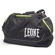 BORSONE LEONE ROUND BAG NEROHxLxP 32x52x25 Cordura/PvcDESCRIZIONEIl borsone, realizzato in CORDURA per resistere alle abrasioni e agli strappi, e' lideale per ogni genere di attivita' sportiva. Il sistema di aerazione sulla tasca laterale con...