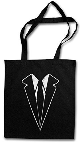 Urban Backwoods Suit Hipster Bag Beutel Stofftasche Einkaufstasche