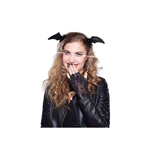 Halloween Fledermaus Haarreif (Fledermaus Maske Kostüm)