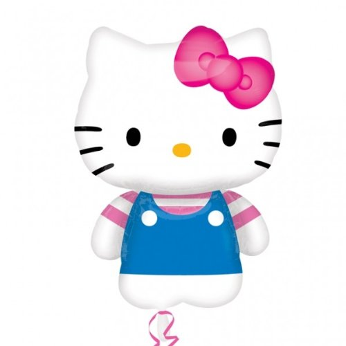 (Unbekannt Anagram 2413501 - Party und Dekoration, Folienballon Super Shape, Hello Kitty Sommer Fun, ca. 76 x 56 cm)