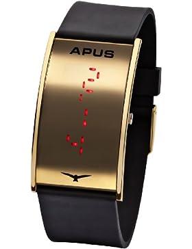 APUS Gamma Gold-Red LED Uhr Sehr leicht