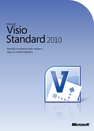 Microsoft Visio Standard 2010 - 1PC/1User - englisch (Visio Ms 2010)