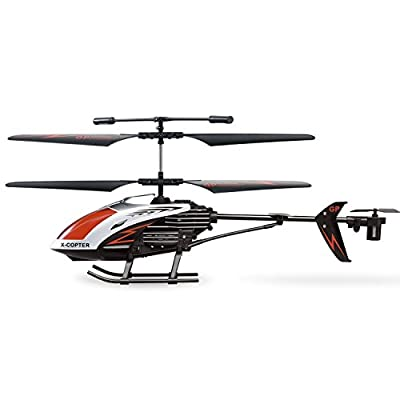GP TOYS RC Helicopter Crash Resistant 3.5 Channels with Gyro and LED Light for Indoor Outdoor Ready to Fly Remote control toys Kids Gift