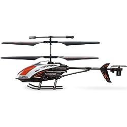 GP TOYS de RC accidente de helicóptero resistente a 3.5 canales con el girocompás y la luz LED de interior al aire libre listo para volar Juguetes de control remoto regalo de los cabritos