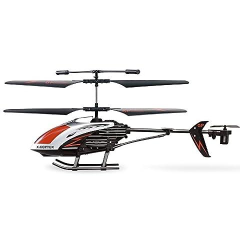 GP TOYS Hélicoptère RC Crash Résistant à 3.5 canaux avec Gyro Hélicoptère Radiocommandé à l'intérieur et à l'exterieur Jouet Télécommandé pour enfants et adulte