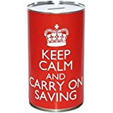 Keep Calm and Keep Saving - Large Savings Tin