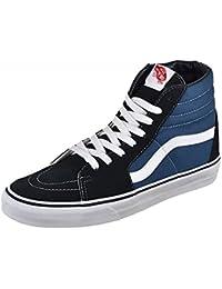 Vans - Zapatillas de skateboarding de Piel para hombre Azul azul Azul azul Talla:US 5,5