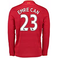 New Balance 2016-2017 Liverpool Home Long Sleeve Football Soccer T-Shirt Trikot (Kids)
