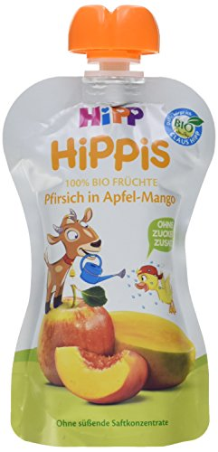 HiPP Pfirsich in Apfel-Mango - Bennie Bock, 100 g