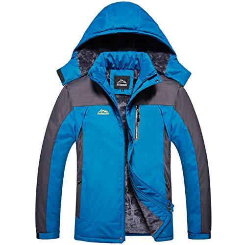 Männliche Herren Patchwork Winter Outwear Mann Sport Mantel -