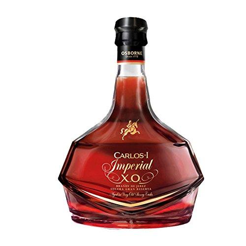 Carlos I Imperial, Solera Gran Reserva Brandy de Jerez, Bodegas Osborne, in Geschenkverpackung (1 x...