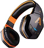 boAt Rockerz 510 Wireless Bluetooth Headphones (Molten Orange)