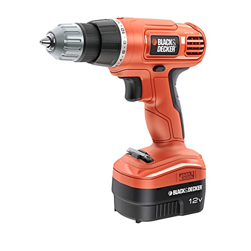 BLACK & DECKER EPC-12-CA - TALADRO SIN CABLE  COLOR NARANJA