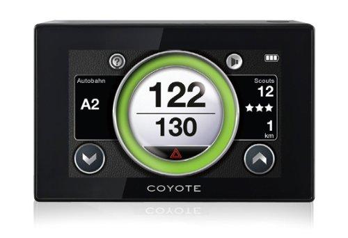 Coyote NC DE 3M Système d'informations de trafic interactif en nuage avec informations en temps réel - Noir