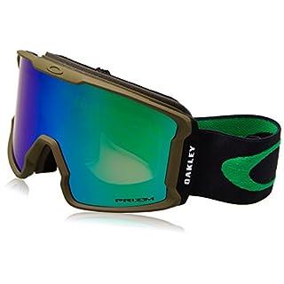Oakley Herren Sportbrille Line Miner 707028 1, Silber (Canteen Iron/Prizmgogglejadeirid), 99