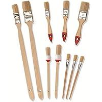 Color Expert 596820 - Juego de pinceles y brochas (10 unidades, surtidos)
