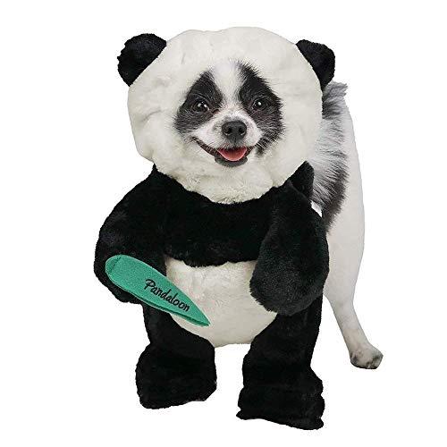 Für Kostüm Panda Verkauf - ZLALF Halloween Katze Hundekostüm Panda Hündchen Und Haustier Kostüm Kleid Für Halloween Weihnachten Ostern Festival Party Aktivität,M