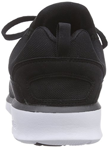 DC Shoes  HEATHROW M SHOE, Sneakers basses hommes Noir (Black/White)