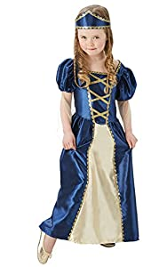 Rubies 620503 9-10 Disfraz Oficial de Princesa renacentista, para niña, XL