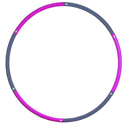 413 KMonDIL - NO.1# HEALTHY LIVING  Fitness-Mad Standard Hula Hoop - Multicoloured, 1.1 Kg Reviewsuk