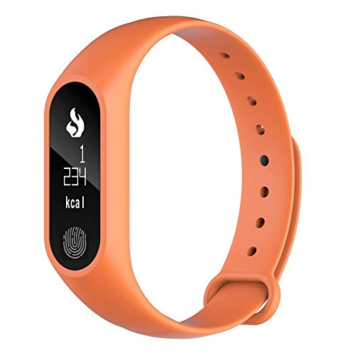 Yanchad Smartwatch Intelligente Uhr M2 Plus Wasserdichter Bluetooth 4.0-Aktivitäts-Tracker mit Pulsmesser und Fitness-Armband Mode tragbar