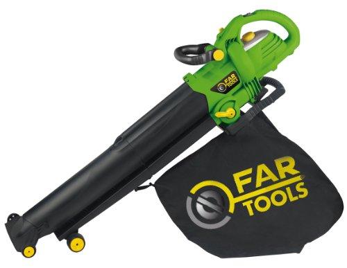 Fartools AB 2600 Aspirateur souffleur puissance 2800 W Noir