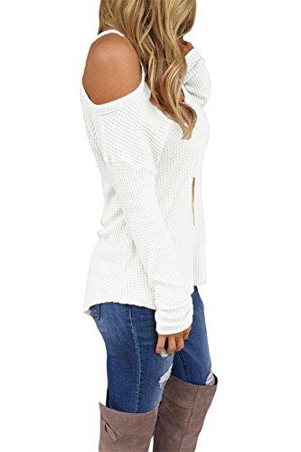 Cfanny - Sweat-shirt - Femme Blanc