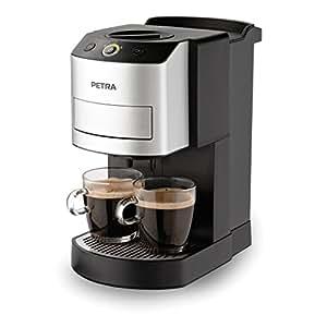 Petra 2110334 Machine à Café Système Pré-Infusion