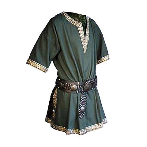 Tunika mit kurzem Arm, grün, Größe L