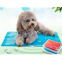 Sun Glower Bonita Cama para Su Mascota Alfombrilla de enfriamiento para perros Alfombrilla de gel autorefrigerante