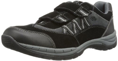 Bruetting Man Comfort V 551007 Herren Sneaker, Schwarz (schwarz/anthrazit), EU 38