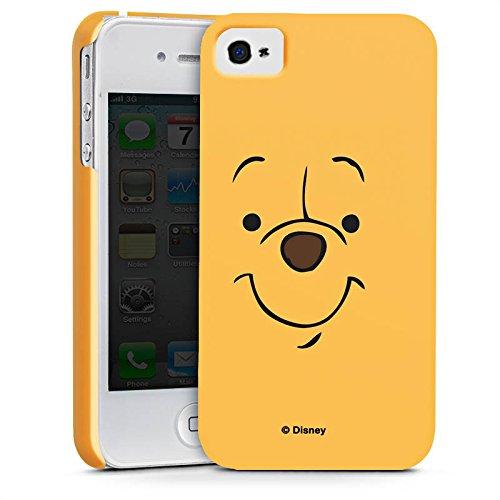 Apple iPhone X Silikon Hülle Case Schutzhülle Disney Winnie Puuh Face Geschenke Merchandise Premium Case glänzend