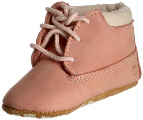 Timberland Kids Infants Crib Bootie Baby Pink Nubuck Size 0.5 (0-6 Months) -