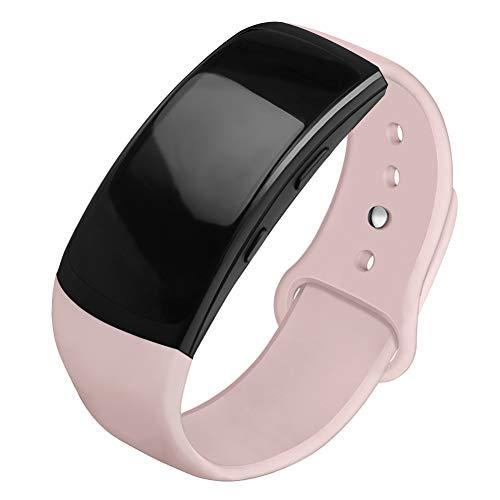 OenFoto Sports Armband kompatibel Gear Fit 2 Pro/Fit 2, Zubehör Ersatzgurt aus Silikon für Samsung Gear Fit 2 Pro SM-R365 und Gear Fit 2 SM-R360 Smartwatch Fit Silikon