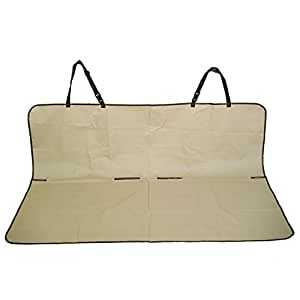 Housse de Protection / Tapis/ Couverture de voiture pour Banquette Arriere Impermeable Type Banc pour Chien Animaux Domestiques 145x115cm
