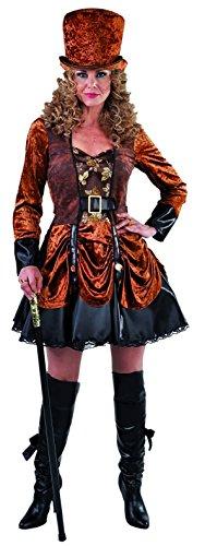 M215170-XXL Damen Steampunk Piraten Kostüm Gr.XXL