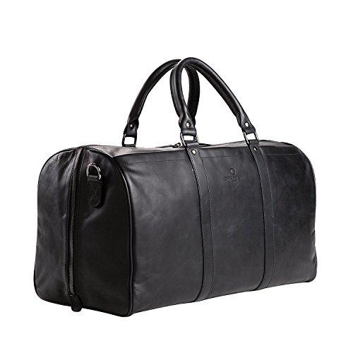 e0446c5ca1e4d Offermann Travel Bag Duffle Bag Travel 27.0 28.0 51.0 Fine Deep Black  801   33.0