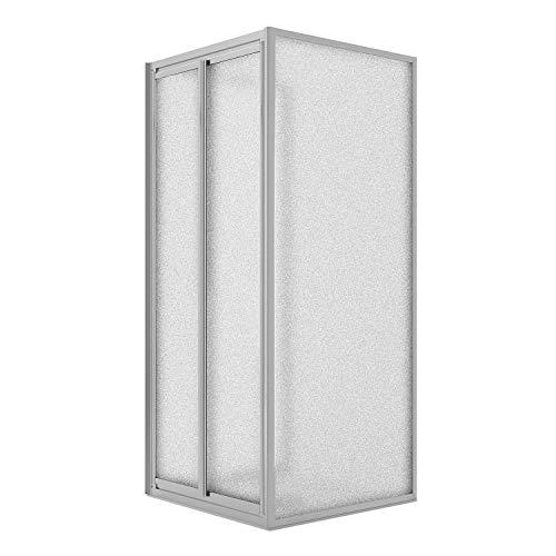 Flip Anta Fisso Idralite Box Doccia 70x20 CM H190 Trasparente con Easyclean MOD