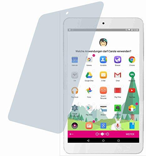 4ProTec Telekom Puls (2 Stück) Premium Bildschirmschutzfolie Displayschutzfolie kristallklar - Kratzfest UND PASSGENAU